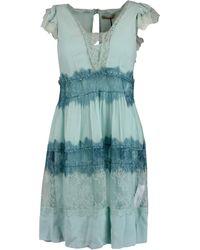Twin Set - Multicolour Viscose Dress - Lyst
