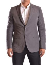 CoSTUME NATIONAL - Men's Mcbi074059o Gray Cotton Blazer - Lyst