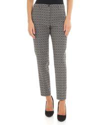Seventy Gray Polyester Pants