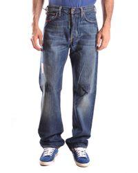 Mauro Grifoni - Blue Cotton Jeans - Lyst