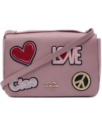 ac0e2114f65 Love Moschino - Pink Faux Leather Shoulder Bag - Lyst