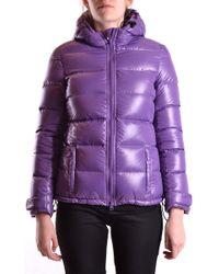 Aspesi Purple Polyamide Down Jacket