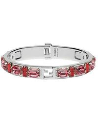 Fendi - Red Metal Bracelet - Lyst