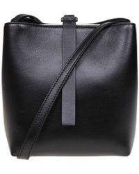 235697e466 Proenza Schouler - Black Leather Shoulder Bag - Lyst