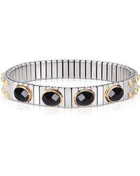 Nomination - Silver Steel Bracelet - Lyst