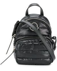 Moncler Black Synthetic Fibers Backpack