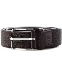 Orciani - Brown Leather Belt - Lyst