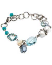 Antica Murrina - Light Blue Other Materials Bracelet - Lyst