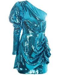 16Arlington Blue Synthetic Fibers Dress
