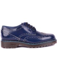 Philippe Model - Blue Leather Lace-up Shoes - Lyst