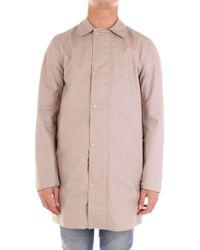 Sempach - Beige Cotton Trench Coat - Lyst