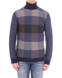 Andrea Fenzi - Multicolor Wool Sweater - Lyst