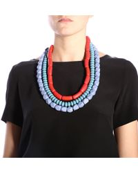 Maliparmi - Multicolour Other Materials Necklace - Lyst