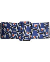 Maliparmi - Blue Polyester Belt - Lyst