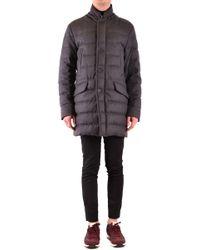 Moncler Gray Wool Coat