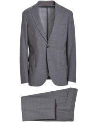 Eleventy - Grey Wool Suit - Lyst