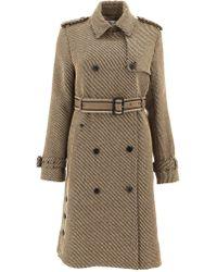 Dior - Green Wool Coat - Lyst