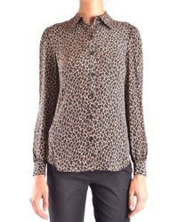 Michael Kors Multicolour Silk Shirt