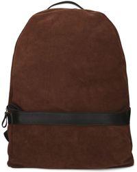 Eleventy - Beige Suede Backpack - Lyst