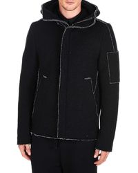 Transit Black Wool Outerwear Jacket