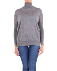 Jucca Grey Wool Jumper - Gray