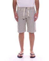 Cruna - White Cotton Shorts - Lyst