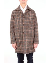 Circolo 1901 Beige Cotton Coat - Natural