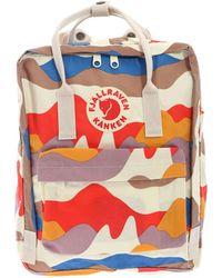 Fjällräven Kånken - Multicolour Polyester Backpack - Lyst