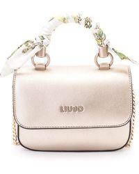 Liu Jo Gold Polyurethane Handbag