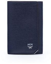 MCM - New Bric Three Fold Key Wallet - Lyst