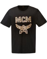 MCM - Logo T-shirt - Lyst