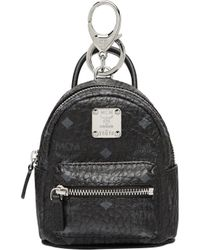 MCM - Backpack Charm In Visetos - Lyst