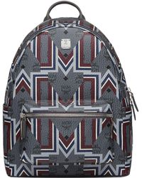 MCM - Stark Backpack In Gunta M Visetos - Lyst