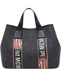MCM - Stadt Tote In Loden - Lyst