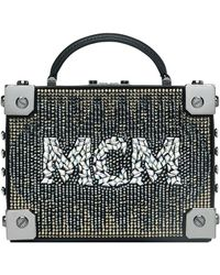 MCM - Berlin Mosaic Crystal Cross Body Bag - Lyst
