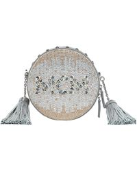 MCM - Berlin Mosaic Crystal Tambourine Cross Body Bag - Lyst