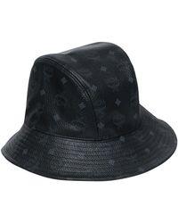 301323bd9ff Lyst - MCM Logo Visetos Visor in Black for Men