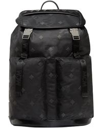 MCM - Dieter Backpack In Lion Camo Nylon - Lyst