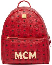 MCM - Project (red) Trilogie Stark Backpack, Ruby, One Size - Lyst