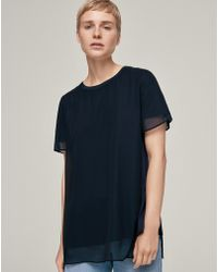 ME+EM - Double Layer Swing Top - Lyst