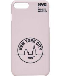 meli melo - Nyc Phone Case | 6plus , 6splus, 7 , 8, 7plus , 8plus, X , Xs | Pink - Lyst