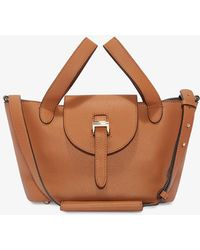 Meli Melo   Thela Mini Cross Body Bag Bag Tan   Lyst
