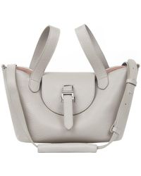 meli melo - Thela Mini | Tote Bag | Taupe And Orchid - Lyst