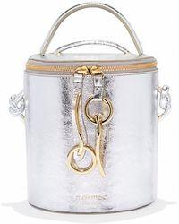 meli melo - Severine   Bucket Bag   Silver - Lyst