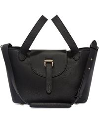 meli melo - Thela Mini Cross Body Bag Black - Lyst