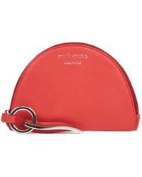 meli melo - Half Moon Wallet | Mars Red With Charm - Lyst