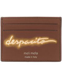 "meli melo - Leather Card Holder | ""despacito""- Olivia Steele 