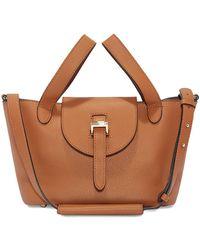 meli melo - Thela Mini Cross Body Bag Bag Tan - Lyst