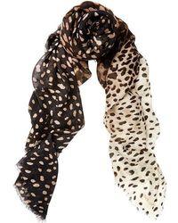 Meli Melo | Cashmere Scarf Leopard Print | Lyst