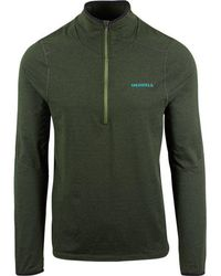 Merrell - Betatherm 1/4 Zip Mid-layer Fleece - Lyst